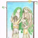 Illustration from Goblin Boys, a short story by Colin Talmage